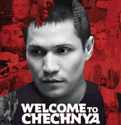 The poster for the documentary 'Welcome to Chechnya'