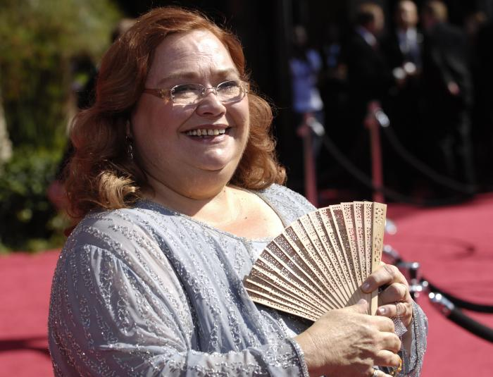 Conchata Ferrell arrives at the 59th Primetime Emmy Awards on Sept. 16, 2007, in Los Angeles.