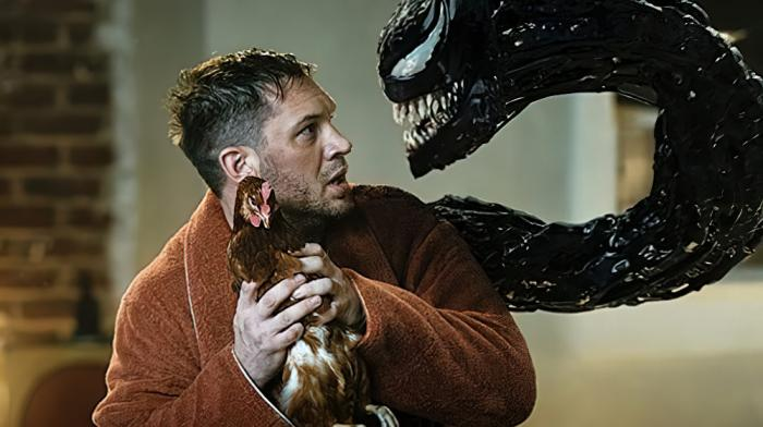 """Tom Hardy in """"Venom: Let There Be Carnage."""""""