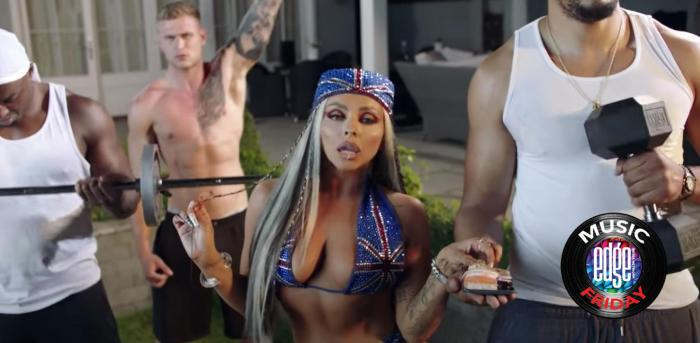 """Jessy Nelson in the music video for """"Boyz."""""""